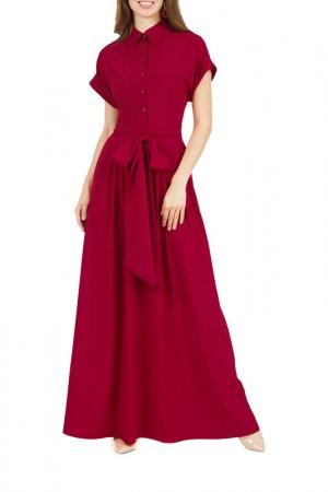 Платье Olivegrey. Цвет: гранатовый