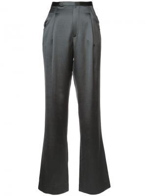 Расклешенные брюки Jill Stuart. Цвет: зеленый