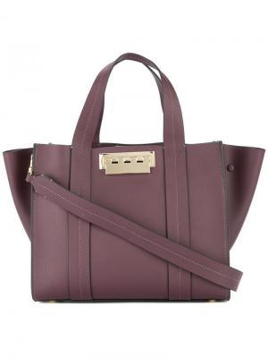 Маленькая сумка-шоппер Eartha Iconic Zac Posen. Цвет: розовый