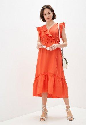 Платье Escada Sport. Цвет: красный