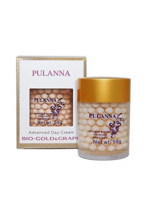 Дневной защитный крем PULANNA. Цвет: белый