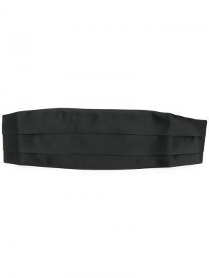 Камербанд со складками Tom Ford. Цвет: черный
