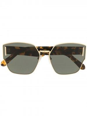 Солнцезащитные очки Oracle Karen Walker. Цвет: золотистый
