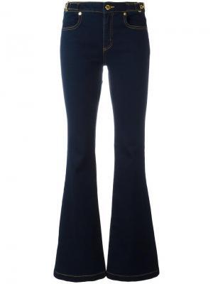 Расклешенные джинсы Michael Kors. Цвет: синий