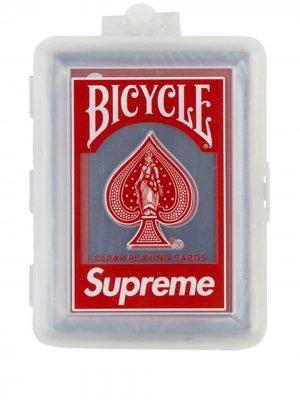 Игральные карты Bicycle Supreme. Цвет: красный