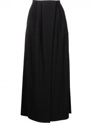 Длинная юбка с запахом Jason Wu. Цвет: черный