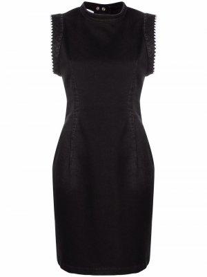 Джинсовое платье без рукавов Dondup. Цвет: черный