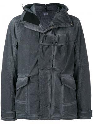 Куртка с капюшоном CP Company. Цвет: серый
