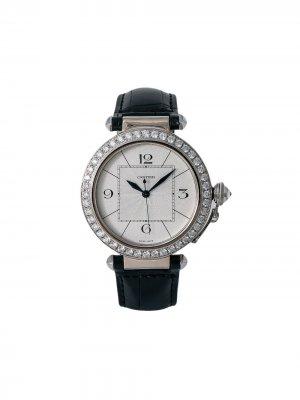 Наручные часы Pasha pre-owned 42 мм Cartier. Цвет: серебристый