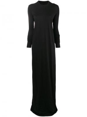 Loose fitted dress Rick Owens DRKSHDW. Цвет: черный