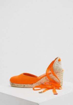 Туфли Castaner. Цвет: оранжевый