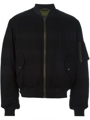 Куртка-бомбер с карманами Haider Ackermann. Цвет: черный