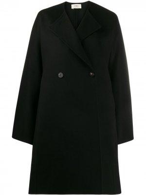 Двубортное пальто Ports 1961. Цвет: черный
