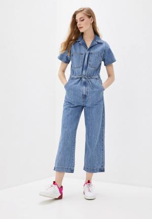 Комбинезон джинсовый Levis® Levi's®. Цвет: синий