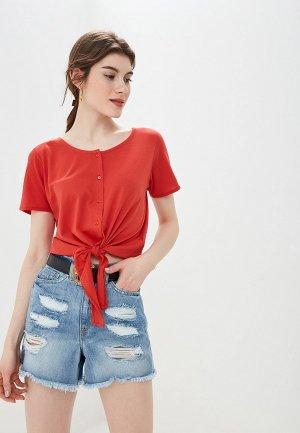 Блуза BlendShe. Цвет: красный