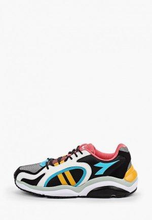 Кроссовки Diadora. Цвет: разноцветный