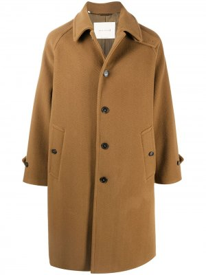 Пальто Blackford Mackintosh. Цвет: коричневый