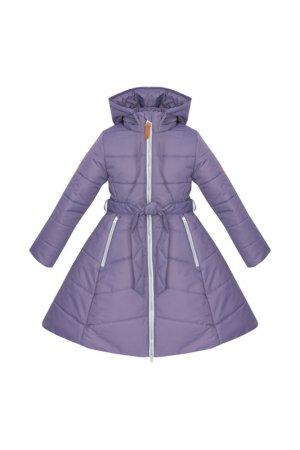 Пальто ZUKKA. Цвет: фиолетовый