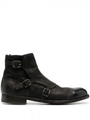 Ботинки-монки Officine Creative. Цвет: черный