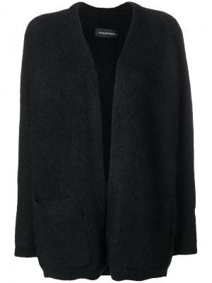 Open front cardigan By Malene Birger. Цвет: черный