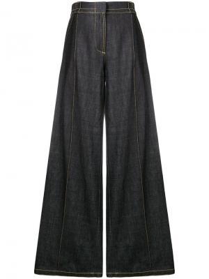 Широкие джинсы Marni. Цвет: синий