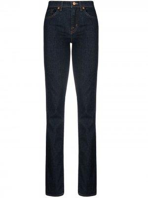 Прямые джинсы J Brand. Цвет: синий