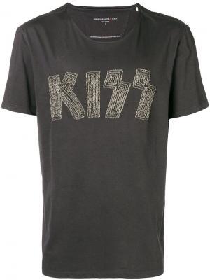 Kiss T-shirt John Varvatos. Цвет: серый