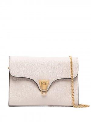 Мини-сумка через плечо Beat Coccinelle. Цвет: нейтральные цвета