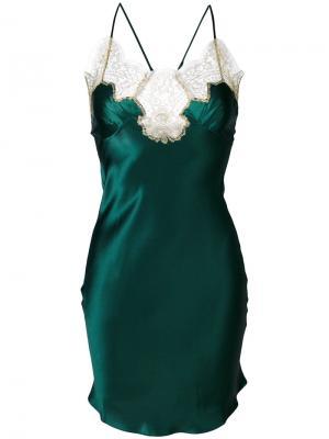Сорочка Gina Gilda & Pearl. Цвет: зеленый