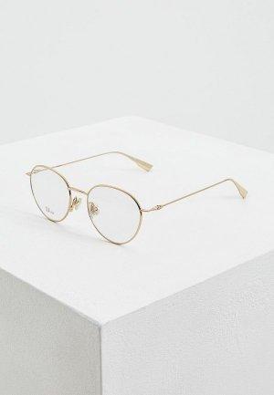 Оправа Christian Dior. Цвет: золотой