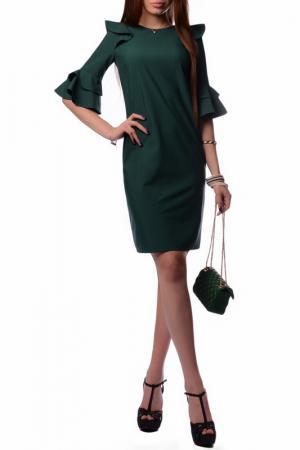 Платье FRANCESCA LUCINI. Цвет: зеленый