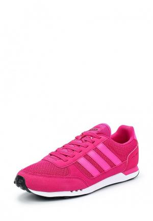 Кроссовки adidas Neo. Цвет: фуксия