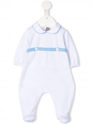 Пижама с воротником Питер Пэн Little Bear. Цвет: белый