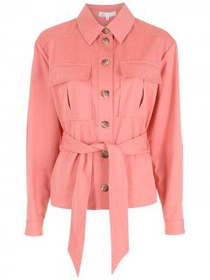 Куртка с завязками Nk. Цвет: розовый