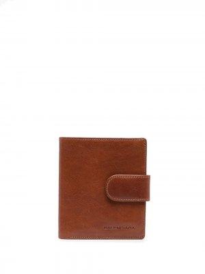 Кошелек с тисненым логотипом Balenciaga Pre-Owned. Цвет: коричневый