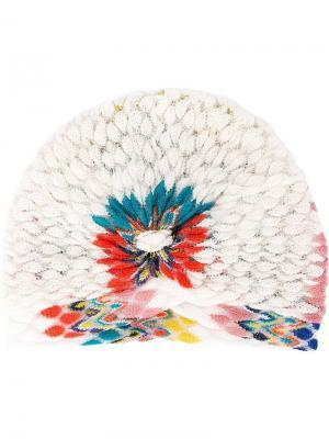 Вязаная повязка на голову Missoni. Цвет: белый