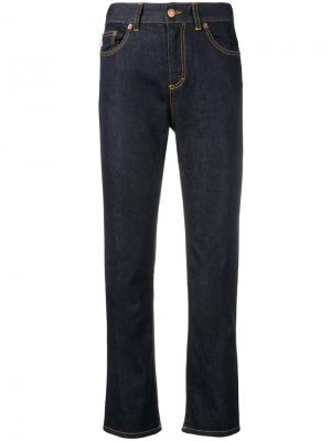 Прямые джинсы Fiorucci. Цвет: синий