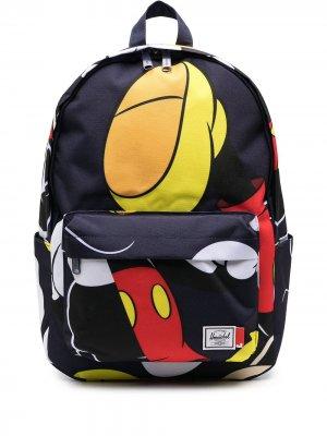 Рюкзак с принтом Herschel Supply Co.. Цвет: синий