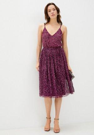 Платье Little Mistress. Цвет: фиолетовый