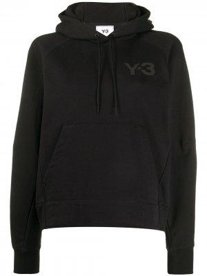 Худи стандартного кроя Y-3. Цвет: черный