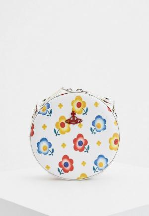 Сумка Vivienne Westwood. Цвет: белый