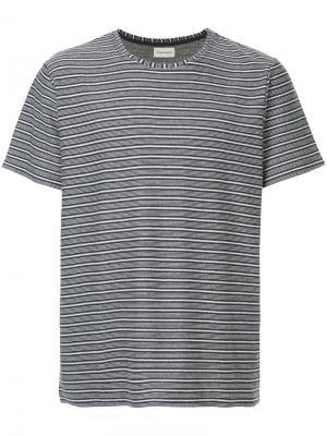 Полосатая футболка Conduit Oliver Spencer. Цвет: синий
