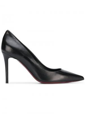 Туфли-лодочки с заостренным носком на высоком каблуке Deimille. Цвет: черный