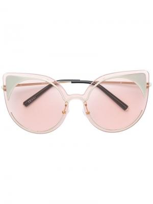 Cat eye frame sunglasses Matthew Williamson. Цвет: розовый