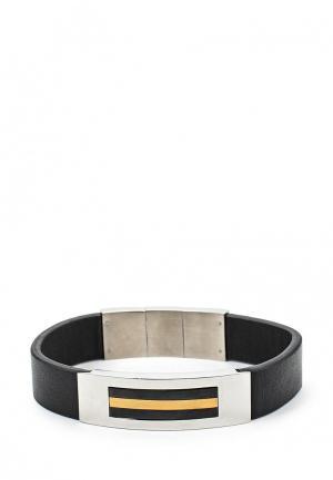 Браслет Art-Silver. Цвет: черный