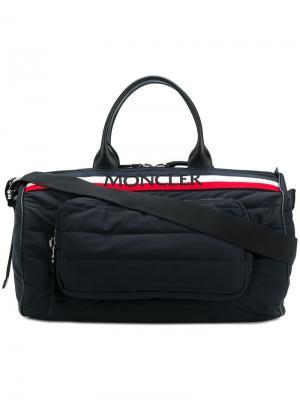 Большая дорожная сумка Kunlum Moncler. Цвет: черный