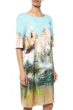 Платье Riani. Цвет: голубой