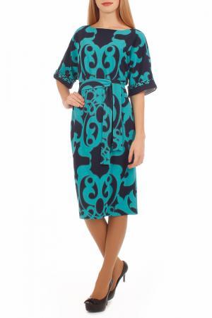 Платье Lamiavita. Цвет: синий