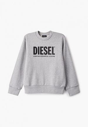 Свитшот Diesel. Цвет: серый