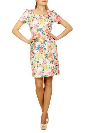Платье Lamiavita. Цвет: белый